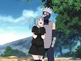 Mina and Kakashi