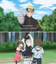Naruto and Team 7