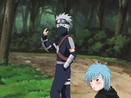 Kakashi and Mina First Meeting