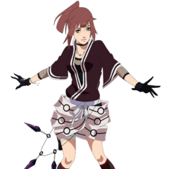 Hana's main Outfit during early Shippuden series