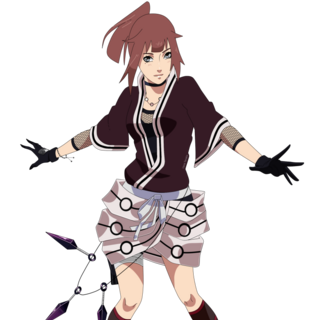 Hana's main Outfit during early Shippuden series.
