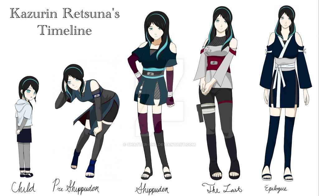image naruto oc kazurin s timeline by shatter end da45hgy jpg