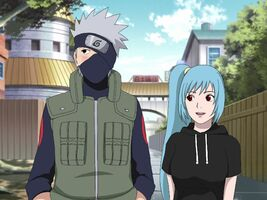 Hatake Kakashi with Mina - The Answer