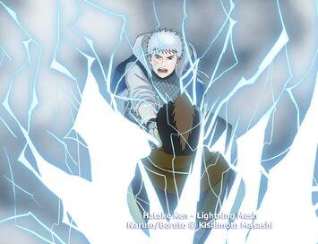 Lightning mesh jutsu