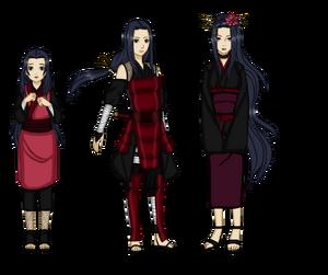 Naruto oc honoka uchiha the wife of tobirama by darklordluzifer-d8yvzkj