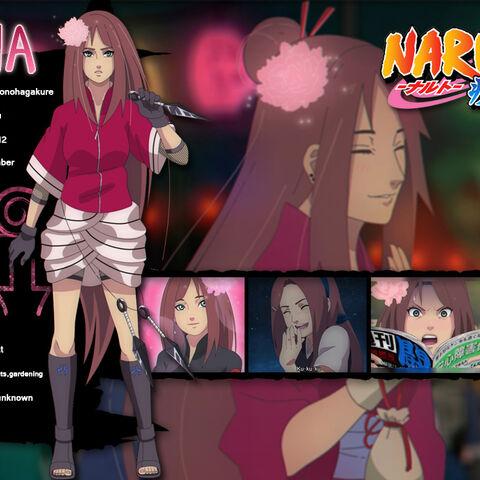 Hana's Info Card.
