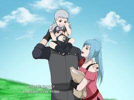Hatake Family - Kakashi Ken Mina