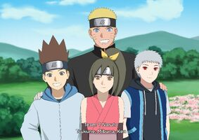 Team 7 Naruto-sensei