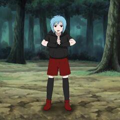 she training Ninjutsu