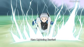 Hatake Ken-Lightning Barrier