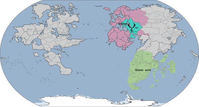 Image - Naruto world map(fictional).png | Naruto OC Wiki | FANDOM ...