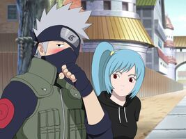 Kakashi and Mina in The Answer