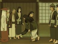 Hizashi paralyses Hiashi