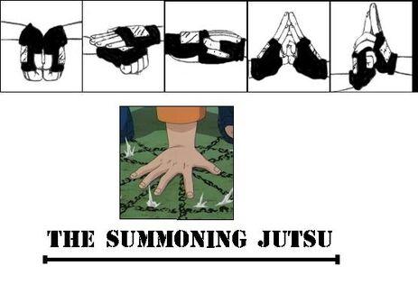 Summoning jutsu