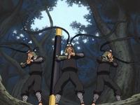 Hiruzen's shadow clones