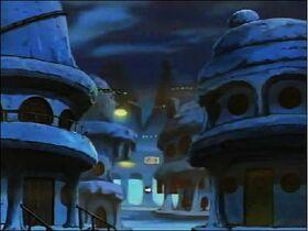 Sunagakure at Night