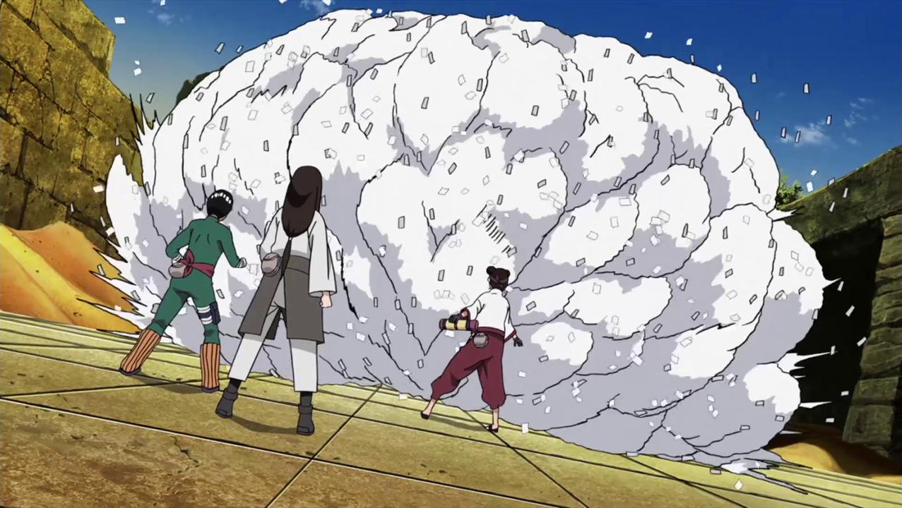 Unsealing Technique: Paper Snowstorm | Naruto Profile Wiki | FANDOM