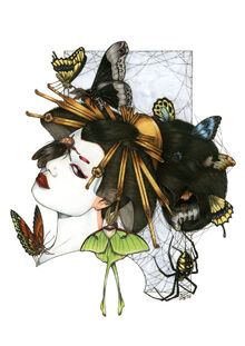 Illustrations-zoe-lacchei geisha big 04
