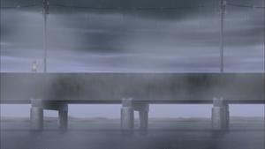 Amegakure bridge