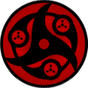 Hybrid Mangekyou Sharingan by Enigmatarius