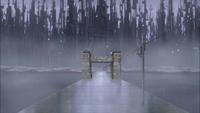 Amegakure gates