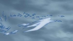 -Ice Release Swallow Snow Storm-