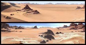 The Sand Desert