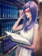 Tokyo ghoul rize by tetsuok9999-d8ar6lq
