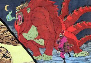 Manga version of Son Gokuu