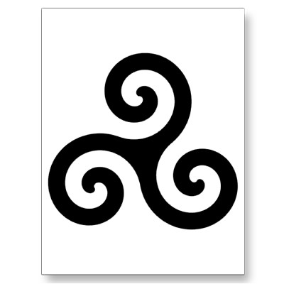 Image Celtic Triskelion Symbol Postcard P239191115994093259z85wg