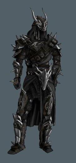Rogue dragon armour concept