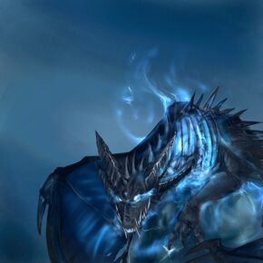 Frost wyrm completed by Dragonpunk15