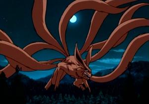 Anime version of Kurama