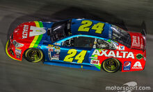 Jeff Gordon 2015 Axalta rainbow