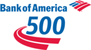 Bank of America 500 logo