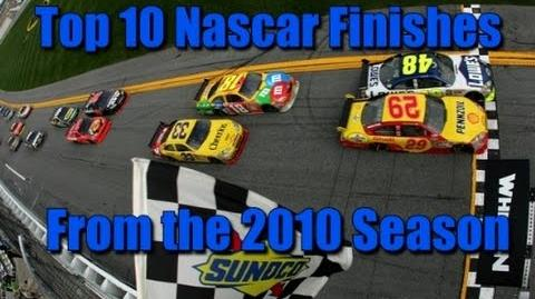 Top 10 Best Finish of the 2010 Season
