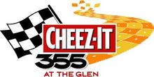 Cheez-It 355 at The Glen logo