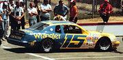 Dale Earnhardt Sr Wranglers sponsership