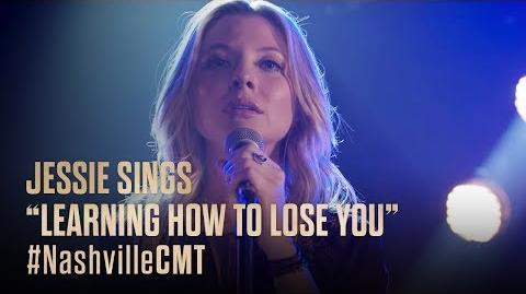 "NASHVILLE on CMT Jessie Caine Sings ""Learning How To Lose You"""