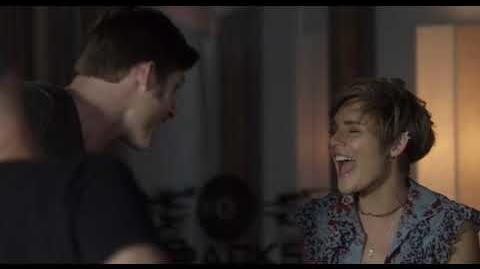 """Chris Carmack and Clare Bowen (Will and Scarlett) Sing """"Little Darlin"""" - Nashville"""