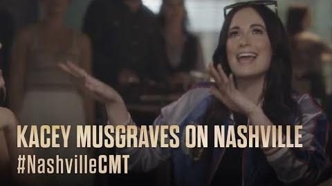NASHVILLE on CMT Kacey Musgraves Jams with Maddie and Daphne