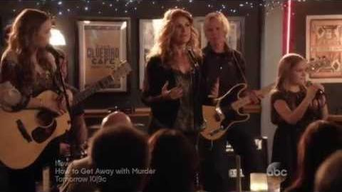 "Nashville 3x12 Rayna, Maddie, Daphne ""Real Life"" Connie Britton & Stella Sisters"