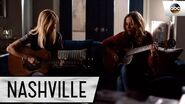 "Lennon Stella (Maddie) and Jessy Schram (Cash) Sing ""Swept Away"" - Nashville"