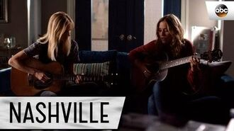 """Lennon Stella (Maddie) and Jessy Schram (Cash) Sing """"Swept Away"""" - Nashville"""