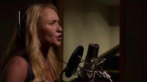 Yellin' From The Rooftop - Juliette Barnes recording in the studio