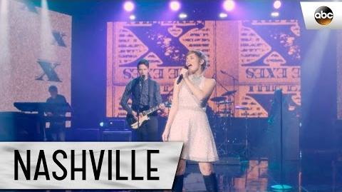 "Clare Bowen (Scarlett) and Sam Palladio (Gunnar) Sing ""The Rubble"" - Nashville"