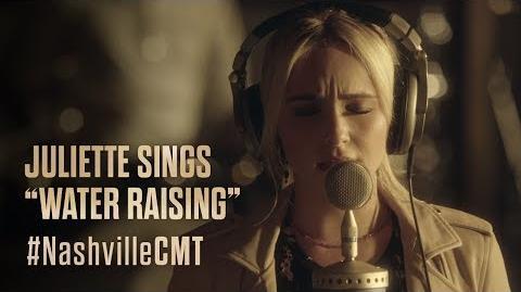 """NASHVILLE on CMT Juliette Barnes Sings """"Water Raising"""""""