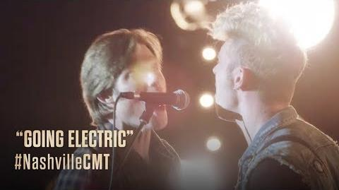 """NASHVILLE on CMT """"Going Electric"""""""