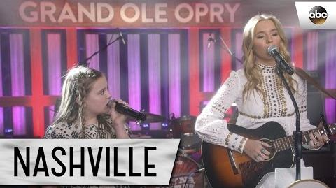 "Lennon and Maisy Stella (Maddie and Daphne) Sing ""Willing Heart"" - Nashville 4x17"
