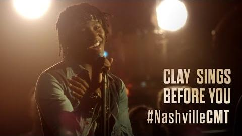 "NASHVILLE on CMT Clay Carter Sings ""Before You"""